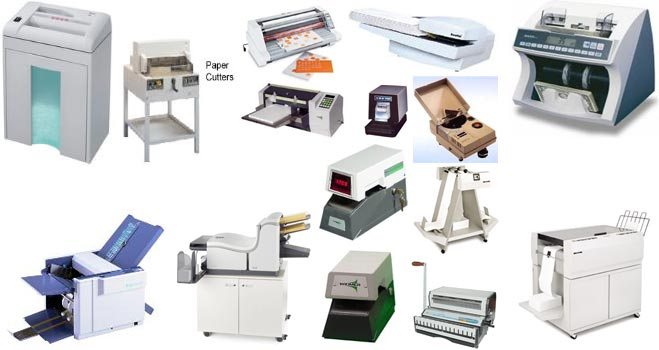 We are the industry's leader in forms and paper handling machine equipment for your business office!
